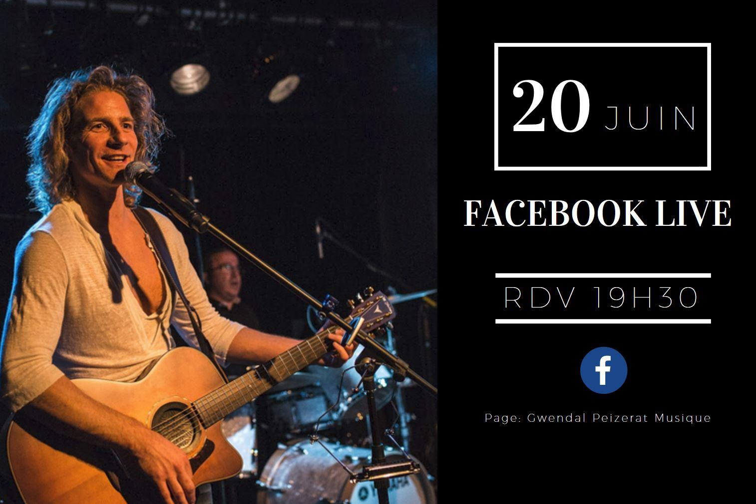 Facebook Live le 20 juin à 19h30