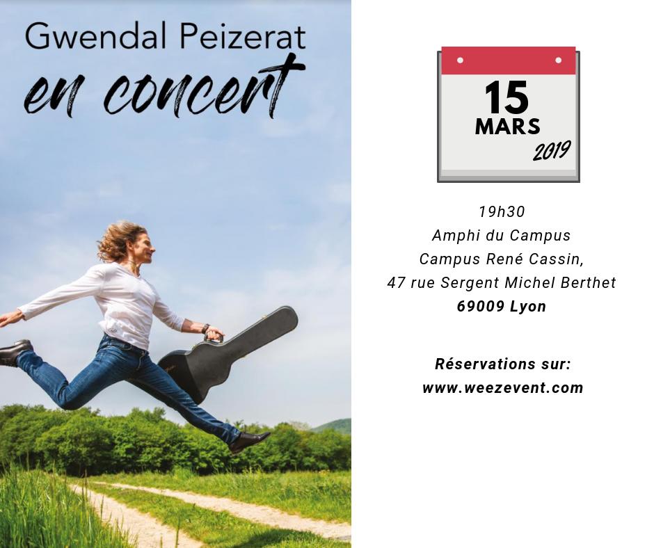 Concert, le 15 mars 2019