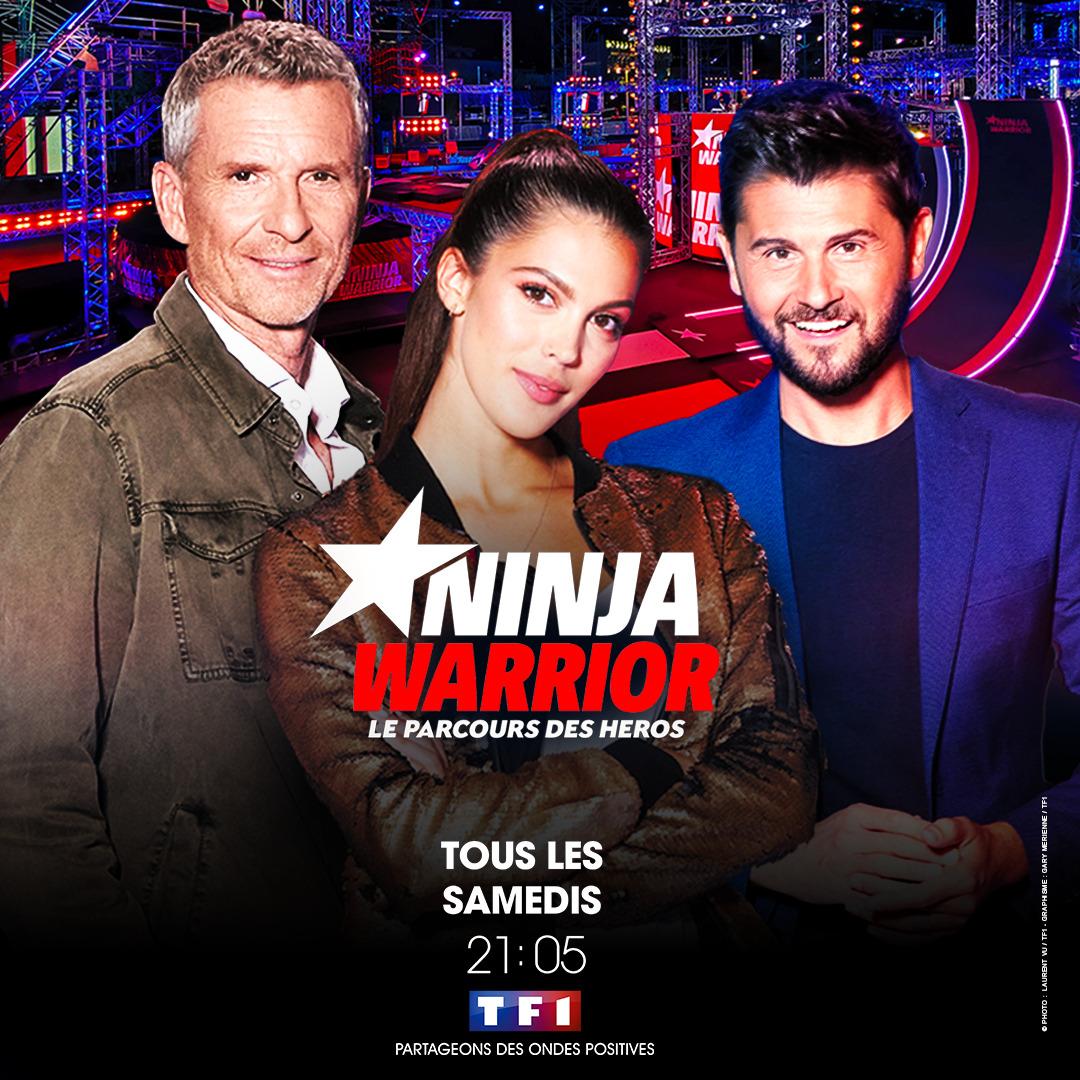 Samedi 16 janvier, RDV dans «Ninja Warrior» sur TF1!